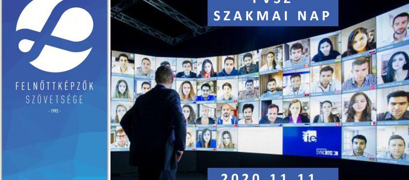 VÉGLEGES AZ FVSZ SZAKMAI NAP IDŐPONTJA – 2020.11.11.